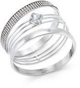 INC International Concepts Gold-Tone 3-Pc. Crystal Bangle Bracelet Set, Only at Macy's