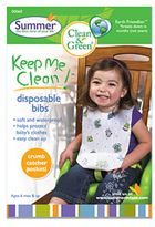 Bed Bath & Beyond Summer® Keep Me CleanTM 20-Count Disposable Bibs