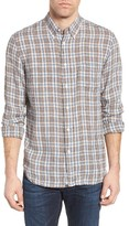 Billy Reid Men's Tuscumbia Check Linen Sport Shirt