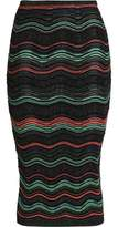 M Missoni Metallic Jacquard Skirt