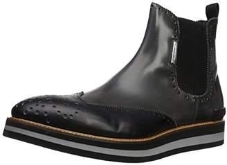 Alessandro Dell'Acqua Men's Arthur Wingtip Chelsea Boot with Thick Sole