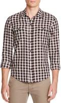 Paige Hunter Plaid Flannel Regular Fit Button Down Shirt