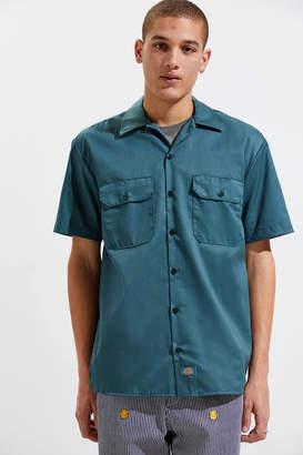 Dickies Short Sleeve Button-Down Work Shirt
