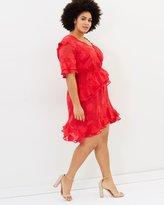 Lolita Textured Frill Dress