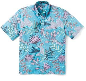Reyn Spooner Vine Climb Tropical Short Sleeve Button-Down Shirt