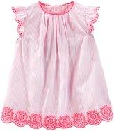 Osh Kosh Dress w/ Diaper Cover (Baby) - Opal Pink - 0-3 Months