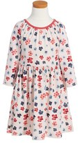 Tea Collection 'Amai' Floral Print Dress (Toddler Girls, Little Girls & Big Girls)