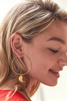 Urban Outfitters Charm Hoop Earring