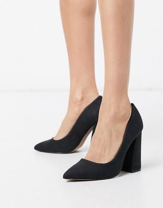 Call it SPRING yara block heeled shoes in black