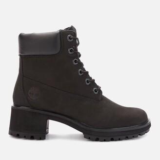 Timberland Women's Kinsley 6 Inch Waterproof Heeled Boots - Black