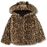 Gap Cheetah faux fur jacket