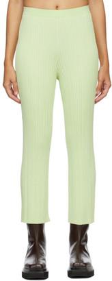 Dion Lee Green Float Lounge Pants
