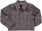 Levi's Trucker Jacket - Black w/ Natural Fill-Medium