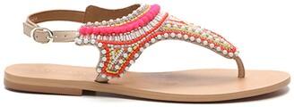 Cosmo Paris Ijane Leather Sandals