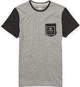 Billabong Men's Zenith Printed Short Sleeve Knit Crew