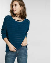 Express thermal long-sleeve dolman pullover