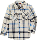 Tea Collection Diego Flannel Shirt (Toddler, Little Boys, & Big Boys)