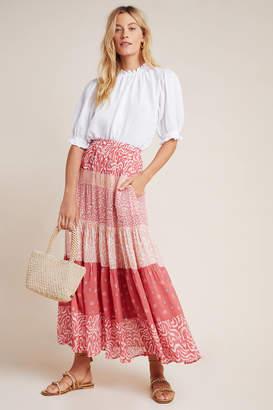 Dolan Left Coast DOLAN Collection Freja Tiered Maxi Skirt