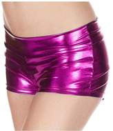 Yodosun Womens Sexy Metallic Disco Rave Shiny Dance Shorts