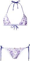 Missoni tie dye lace bikini - women - Nylon/Spandex/Elastane/Rayon - 42