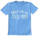 Urban Smalls Bright Blue 'She's a Cool Mom' Tee - Toddler & Girls
