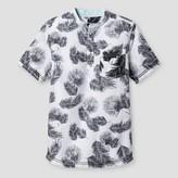 Art Class Boys' Palm Popover Button Down Shirt Art Class - Ebony