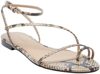 Banana Republic Leather Strappy Flat Sandal