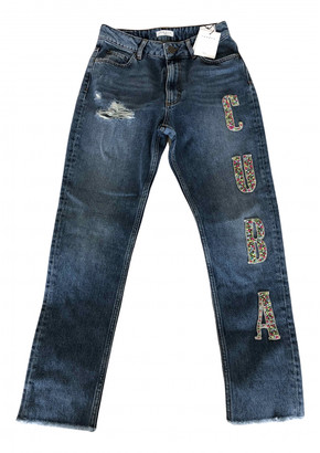 Sandro Fall Winter 2019 Blue Denim - Jeans Jeans