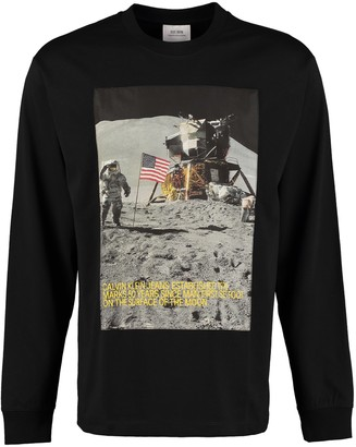 Calvin Klein Jeans Printed Long-sleeve T-shirt