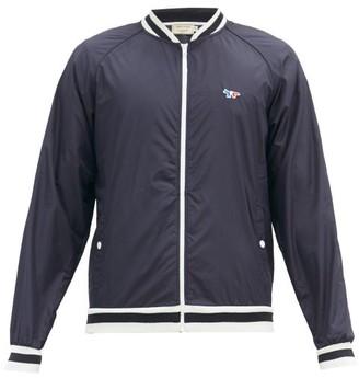MAISON KITSUNÉ Windbreaker Varsity Jacket - Mens - Navy