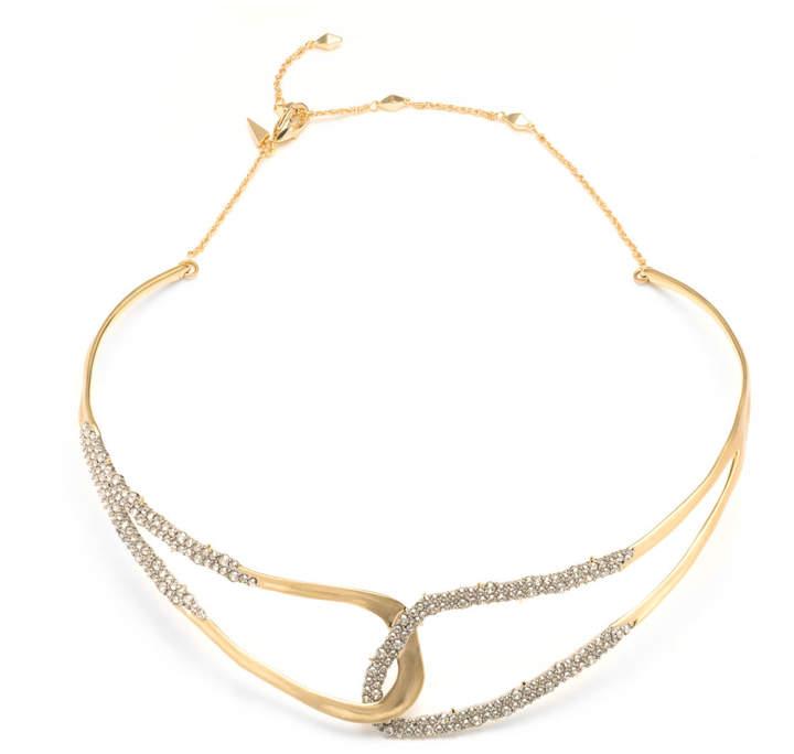Alexis Bittar Freeform Adjustable Collar Necklace