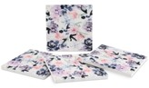 Thirstystone Indigo Pastel Watercolor Floral 4-Pc. Coaster Set