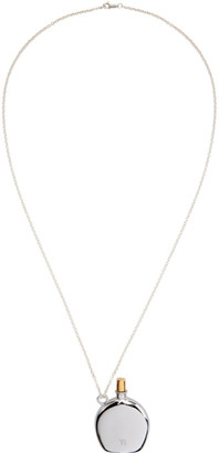 Y's Ys Silver Atomizer Necklace