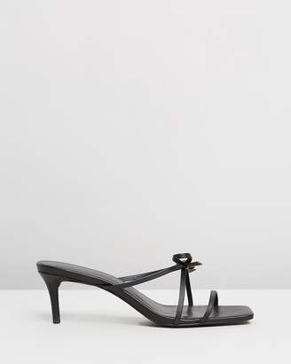 Atmos & Here Hycinth Leather Heels