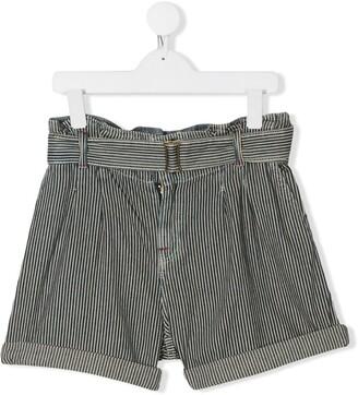 Ralph Lauren Kids TEEN belted shorts