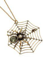 Alcozer & J Spider Necklace