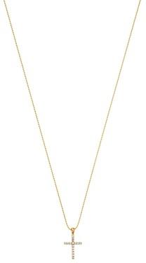 Bloomingdale's Kc Designs 14K Yellow Gold Diamond Cross Pendant Necklace, 18