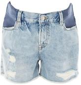 Topshop MATERNITY Bleach Ashley Shorts
