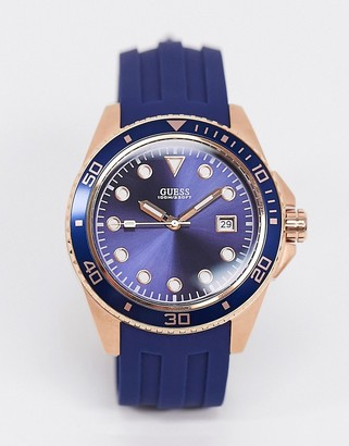 GUESS watch in blue