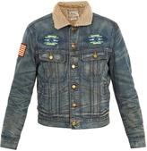 Polo Ralph Lauren Faux shearling-collar denim jacket
