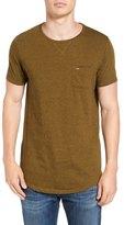 Scotch & Soda Curved Hem Pocket T-Shirt