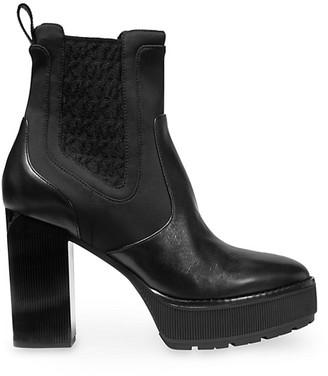 MICHAEL Michael Kors Cramer Platform Leather Booties