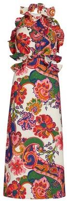Zimmermann The Lovestruck Tie Back Midi dress