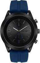 Kenneth Cole Reaction Men's Navy Silicone Strap Watch 46.5mm 10030940