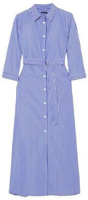 MDS Stripes 3/4 length dress