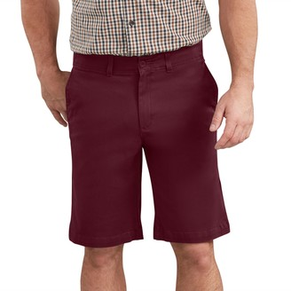 Dickies Men's 11-inch Active Waist Washed Chino Shorts