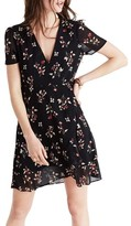 Madewell Women's Posy Floral Ruffle Dress