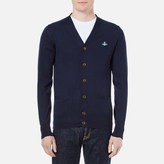 Vivienne Westwood Man Classic Knitted Cardigan Navy