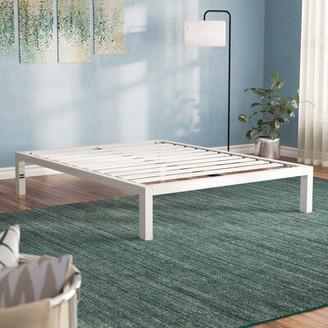 """Zipcode DesignTM Virgilina 14"""" Steel Platform Bed Zipcode Design Size: Full"""