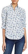 Polo Ralph Lauren Boy Fit Floral-Print Shirt